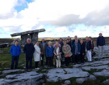 14 October 2018 – Outing to Clare & Galway